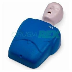 Maniquíes para práctica de compresiones cardíaca y respiración boca a boca.